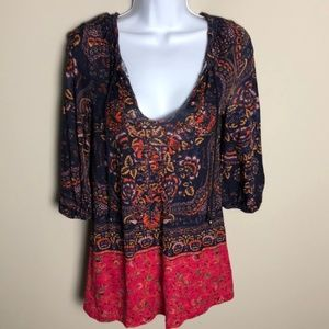 Anthropologie Meadow Rue Blouse Size XS